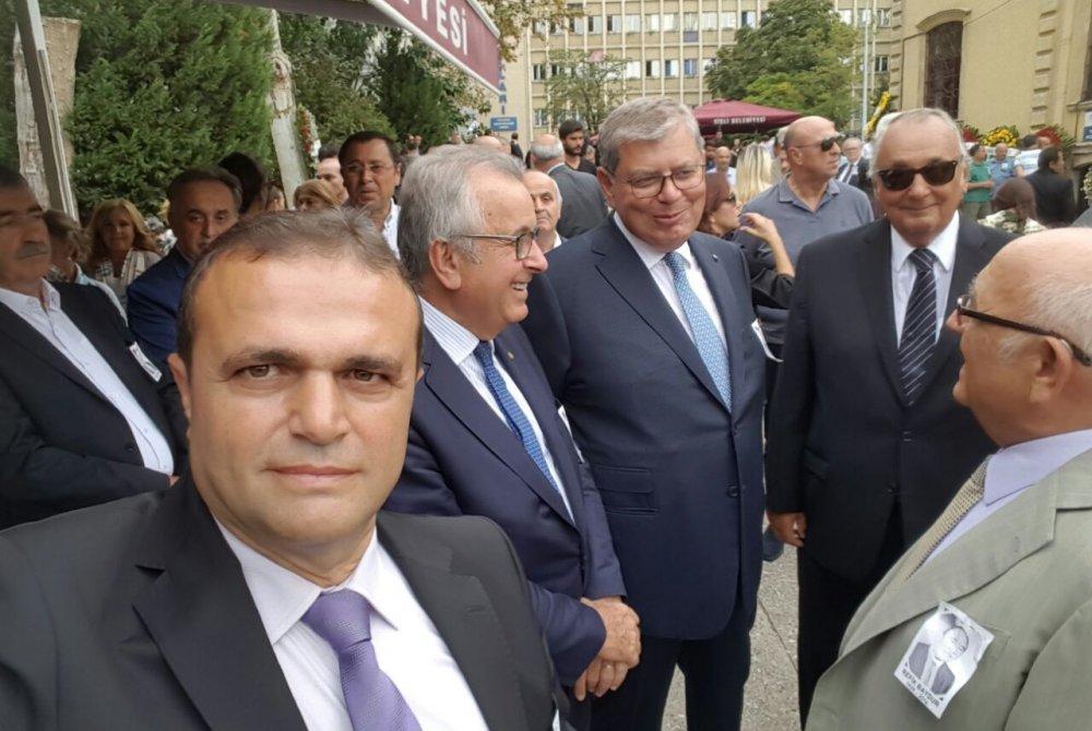 REFİK BAYDUR'UN CENAZE TÖRENİNE KATILDIK