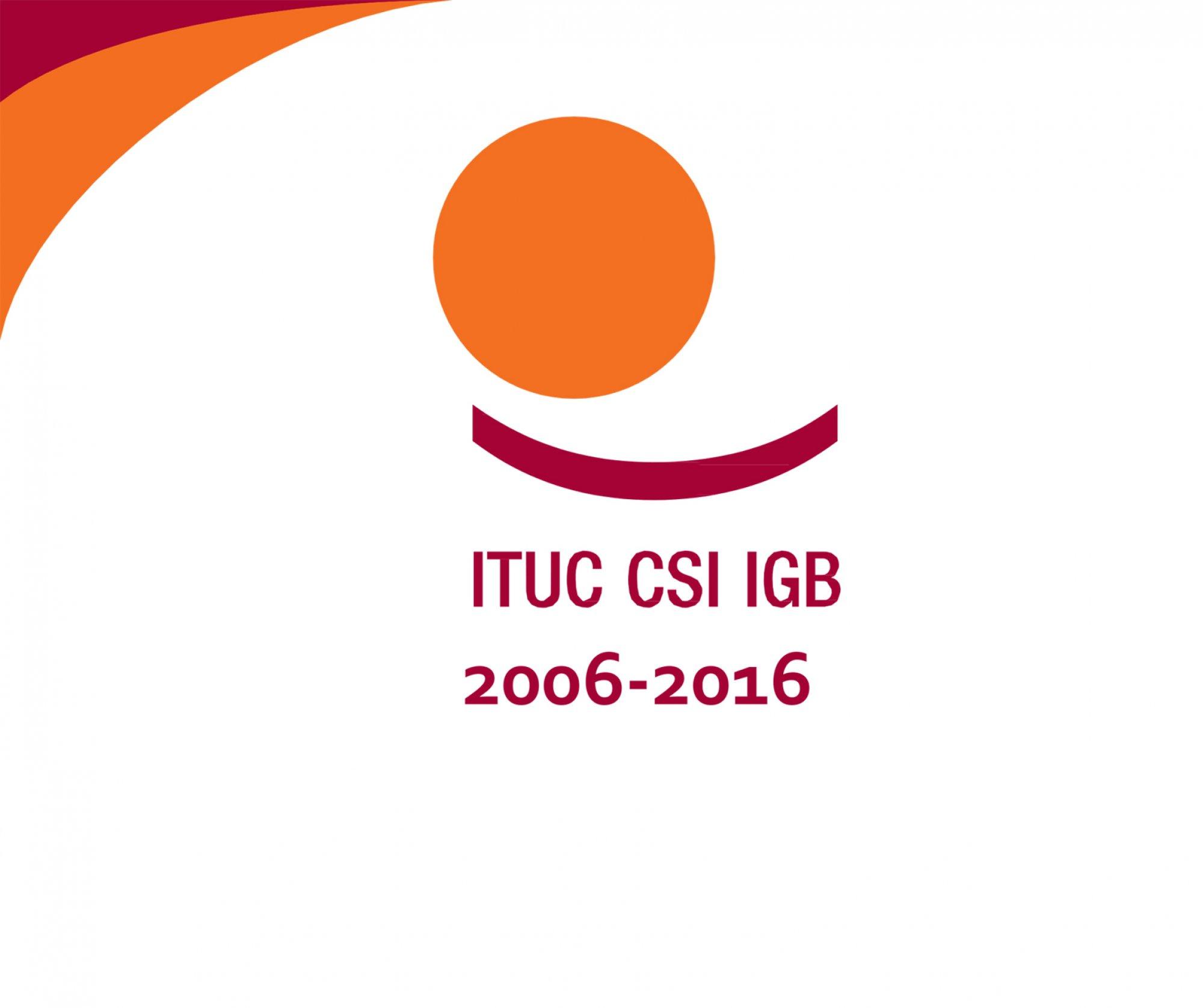 ITUC'UN 10. KURULUŞ YILDÖNÜMÜNÜ KUTLUYORUZ