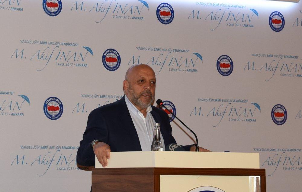 ARSLAN, MEHMET ÂKİF İNAN'I ANMA PROGRAMINA KATILDI
