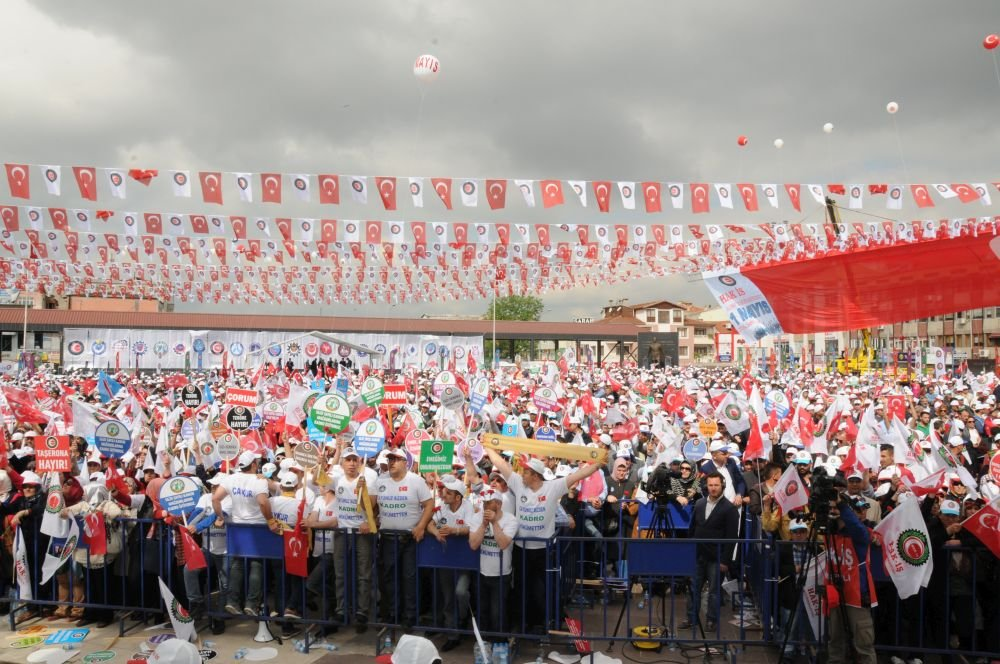 HAK-İŞ 1 MAYIS'I ERZURUM'DA KUTLAYACAK