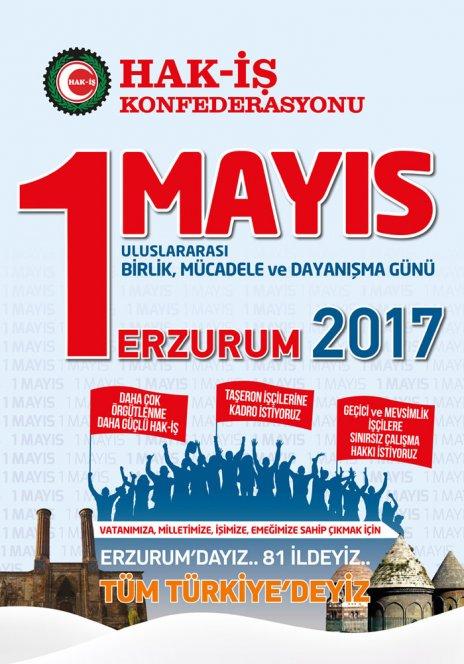 HAK-İŞ 1 MAYIS BİLDİRİSİ