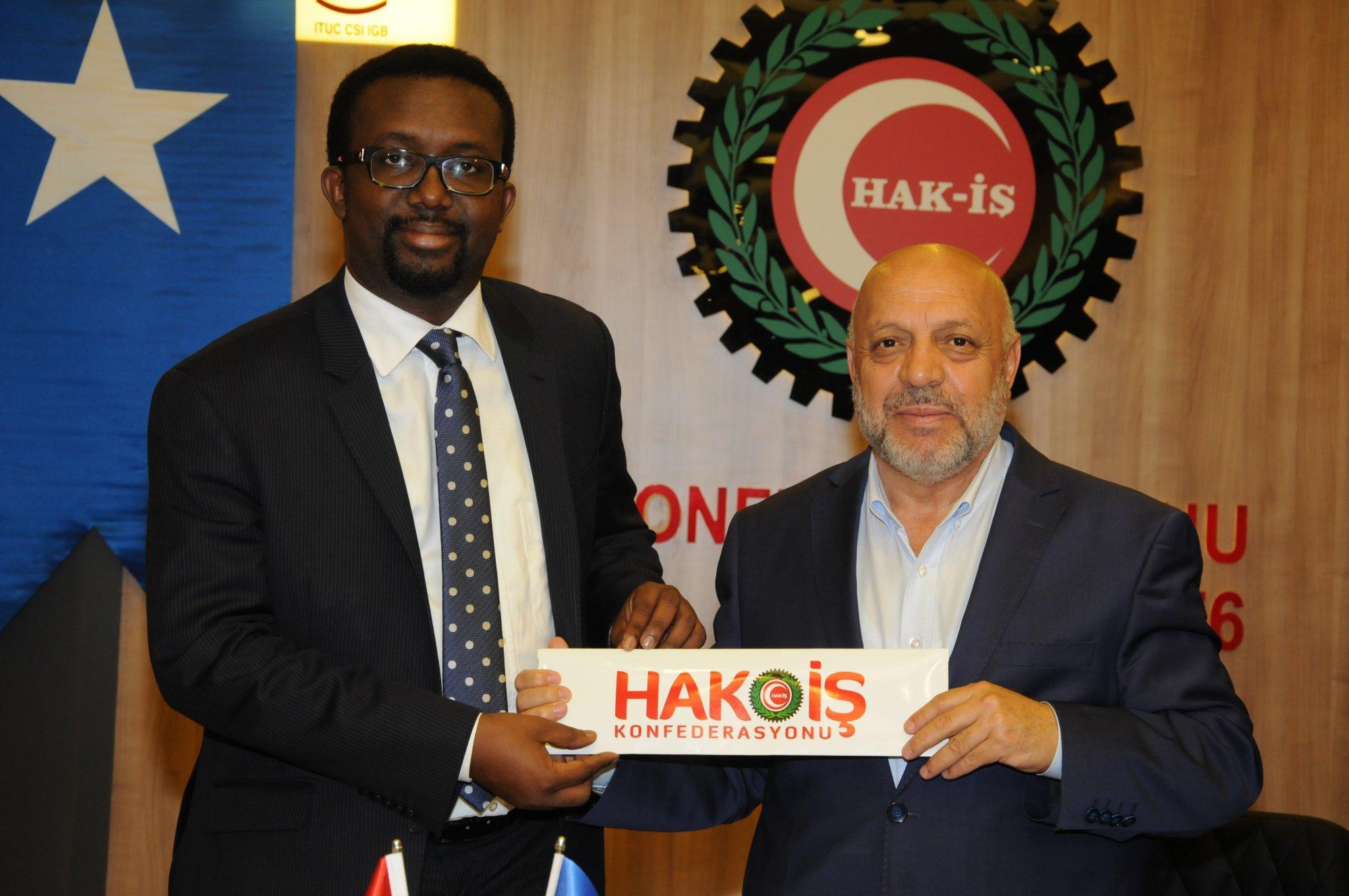 HAK-İŞ – FESTU İkili Toplantısı Ortak İşbirliği Bildirgesi