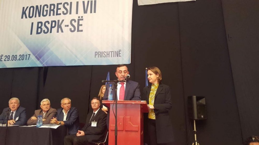TORUNTAY, KOSOVA'DA KONGREYE KATILDI