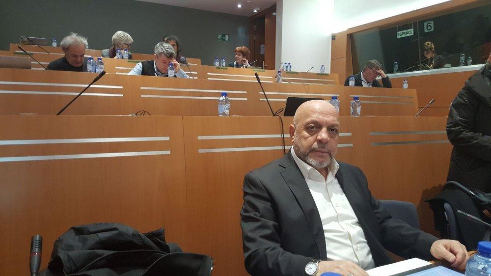 ARSLAN, BRÜKSEL'DE EPSU İCRA KURULU TOPLANTISINA KATILDI