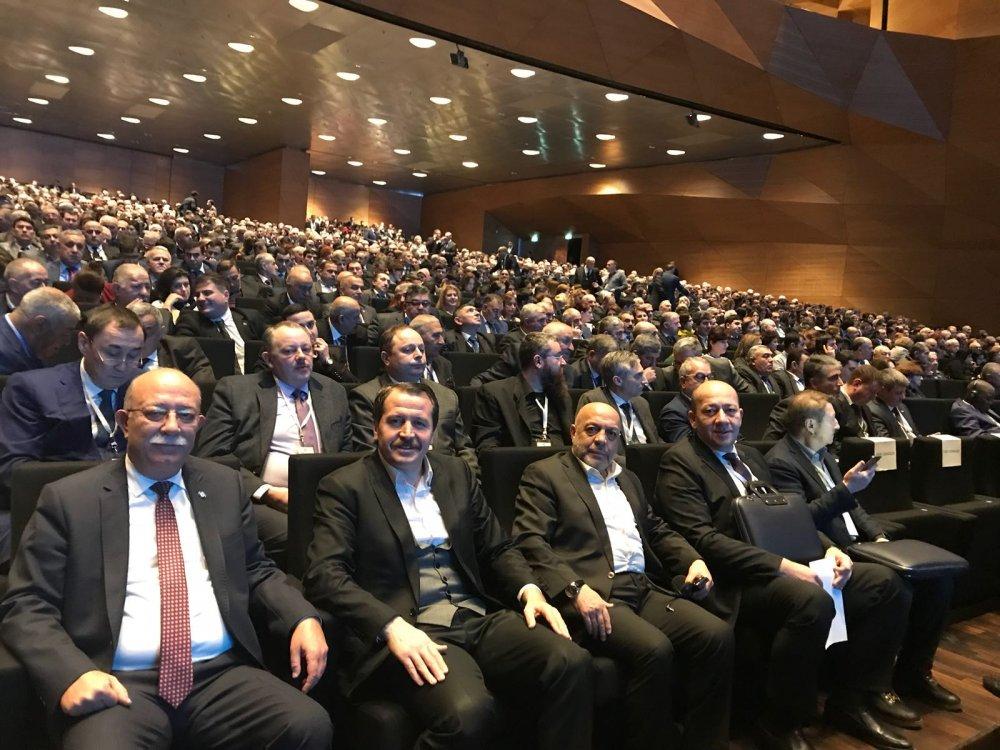 ARSLAN, AZERBAYCAN'DA AHİK GENEL KURULU'NA KATILDI