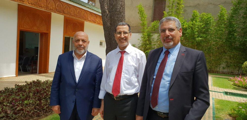 ARSLAN FAS BAŞBAKANI OSMANİ'Yİ ZİYARET ETTİ