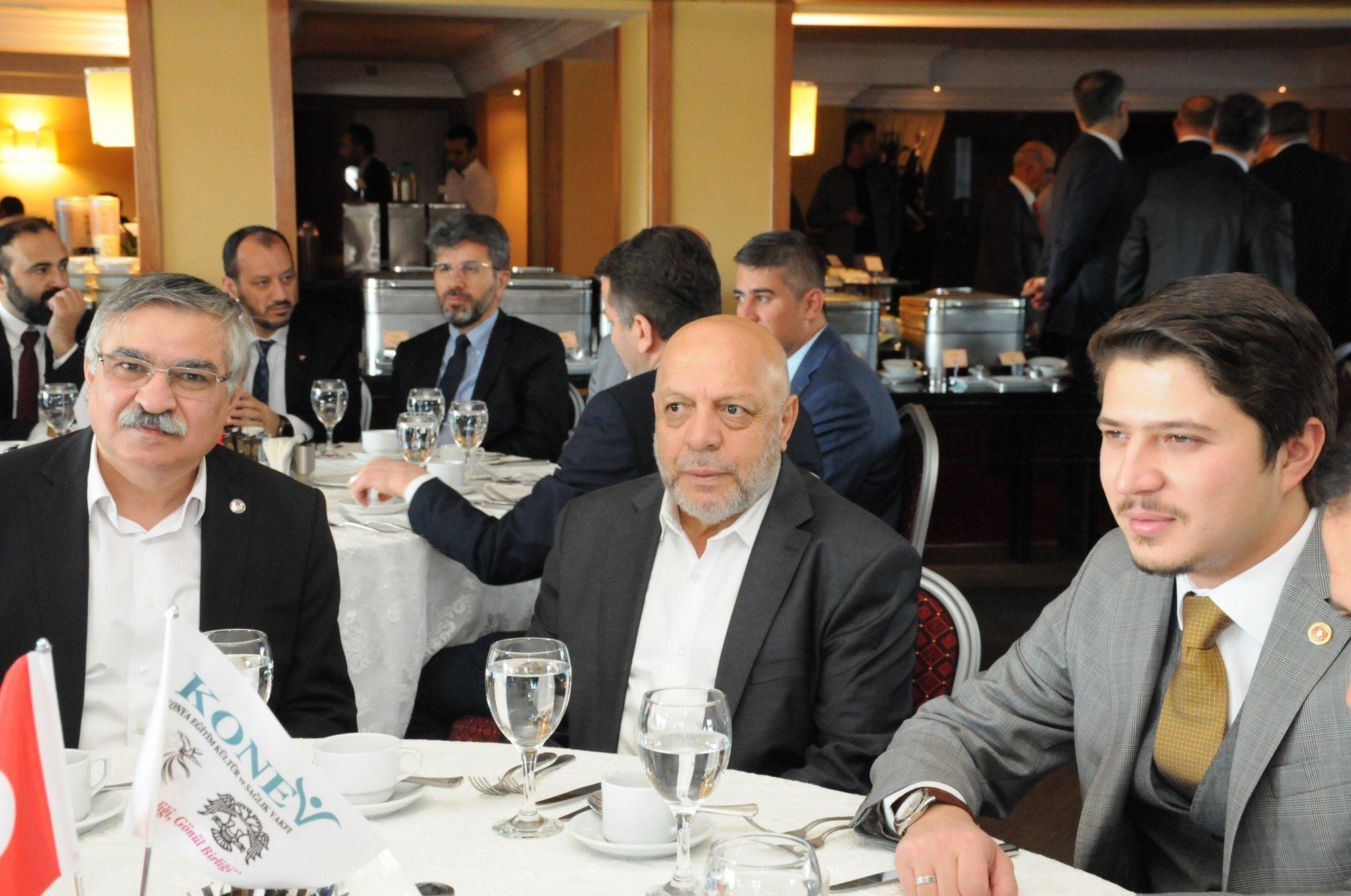 ARSLAN, KONEV TANIŞMA, BİRLİK BERABERLİK TOPLANTISINA KATILDI