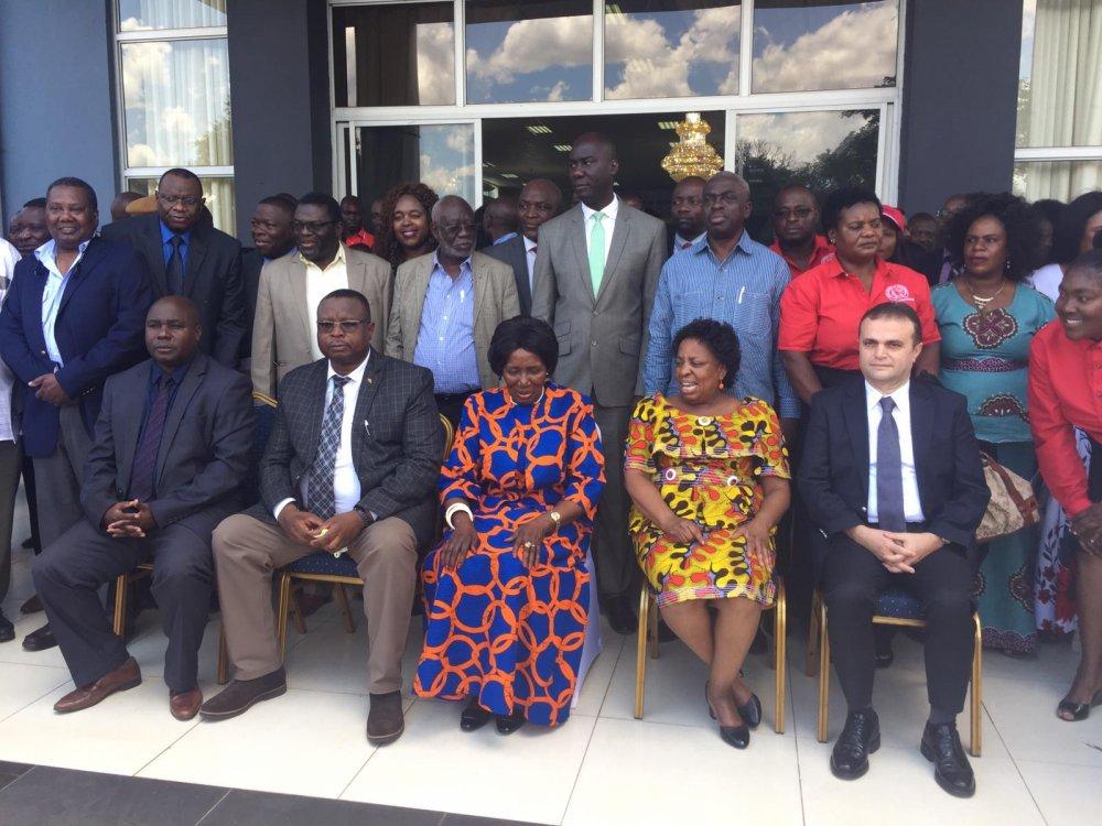 YILDIZ, ZAMBİYA'DA 15. ZCTU KONGRESİNE KATILDI