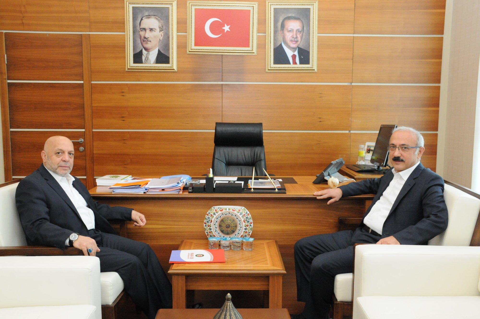 ARSLAN'DAN AK PARTİ GENEL BAŞKAN YARDIMCISI ELVAN'A ZİYARET
