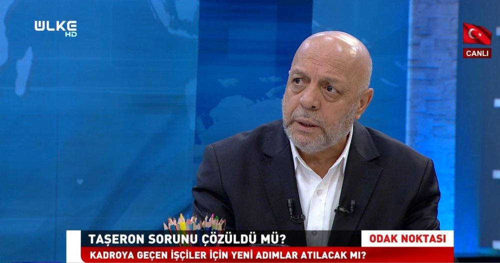 ARSLAN, ÜLKE TV ODAK NOKTASI PROGRAMININ KONUĞU OLDU