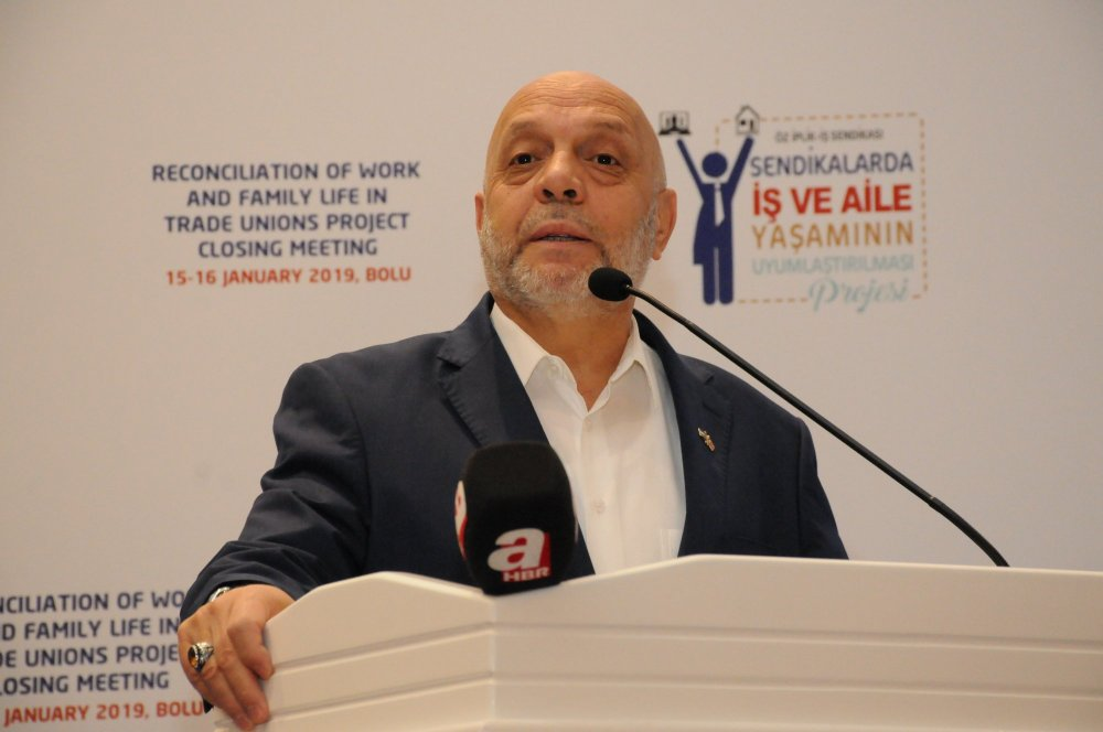 ARSLAN, ÖZ İPLİK-İŞ PROJE KAPANIŞ TOPLANTISINA KATILDI