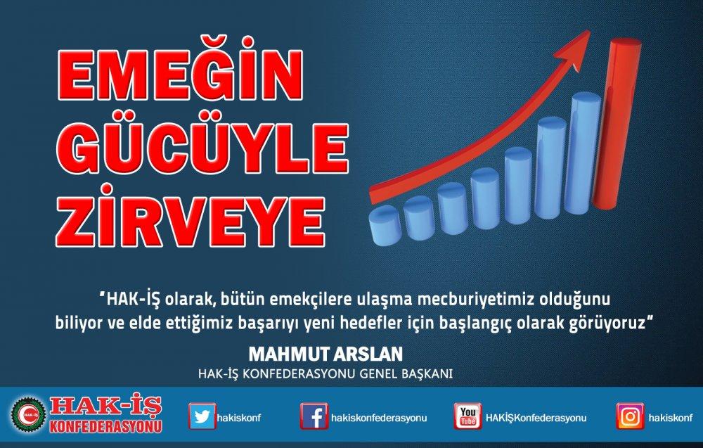 """""""EMEĞİN GÜCÜYLE ZİRVEYE"""""""