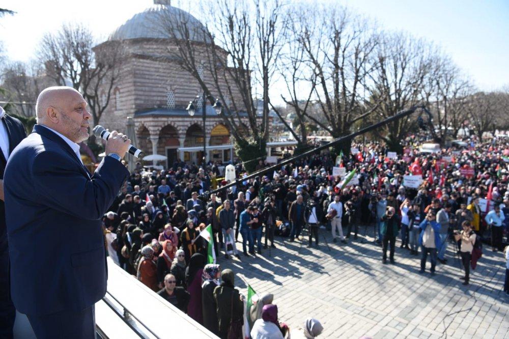SURİYE ZİNDANLARINDAKİ KADINLARIN ÖZGÜRLÜĞÜ İÇİN  İSTANBUL'DAN HAYKIRDIK