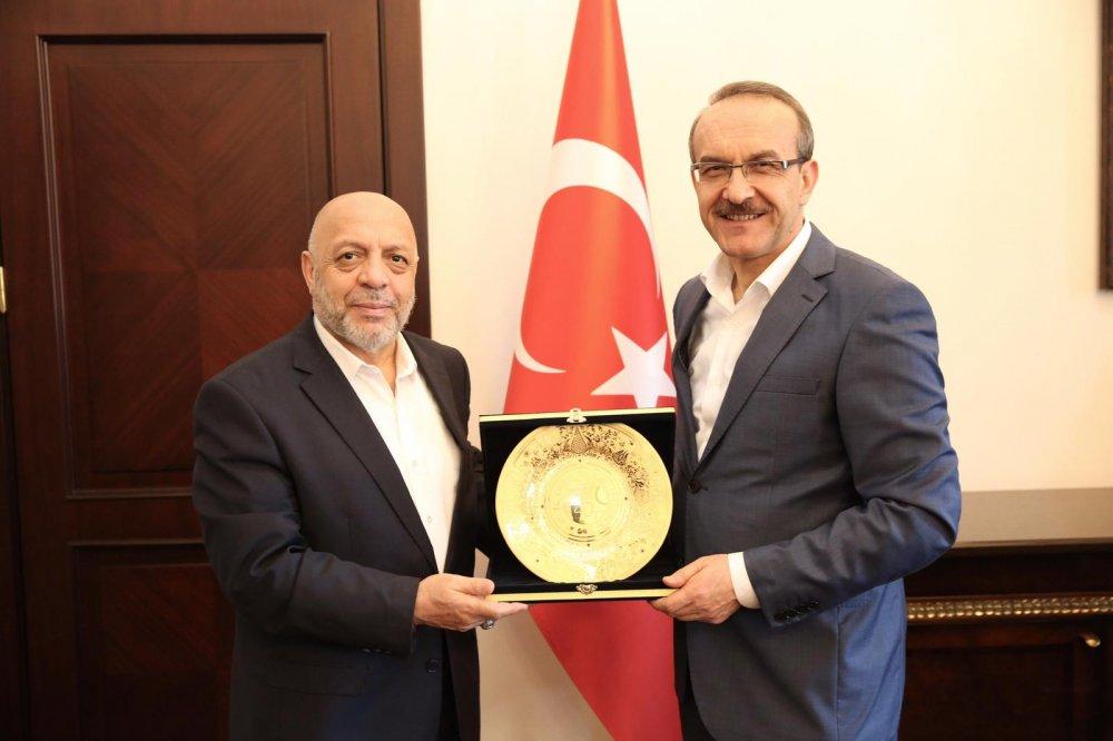 ARSLAN'DAN ORDU VALİSİ YAVUZ'A ZİYARET