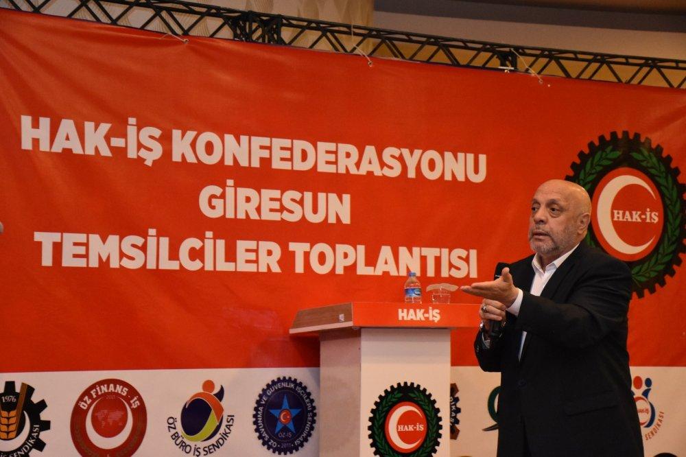 ARSLAN, GİRESUN'DA TEMSİLCİLER TOPLANTISINA KATILDI
