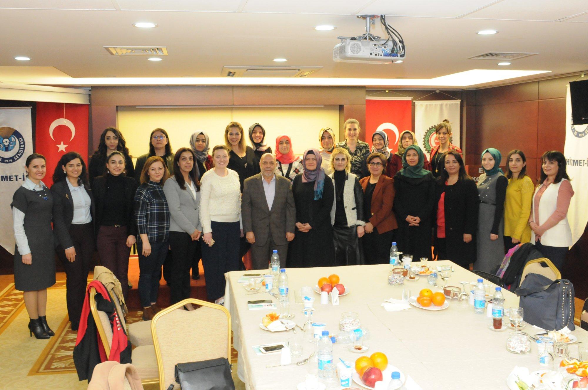 ARSLAN, HAK-İŞ KADIN KOMİTESİ TOPLANTISINA KATILDI