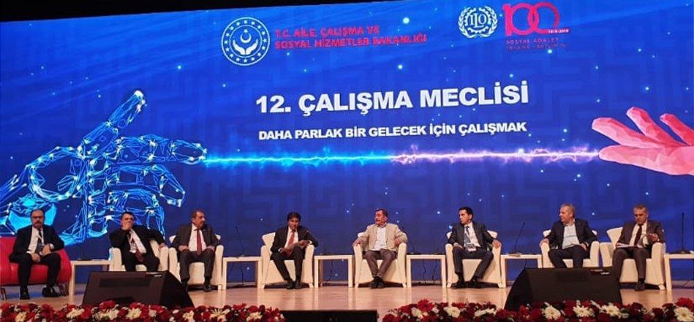 12. ÇALIŞMA MECLİSİ TOPLANTISINA KATILDIK