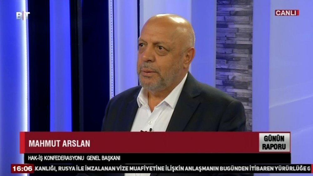 ARSLAN, BENGÜTÜRK TV CANLI YAYININDA KONUŞTU