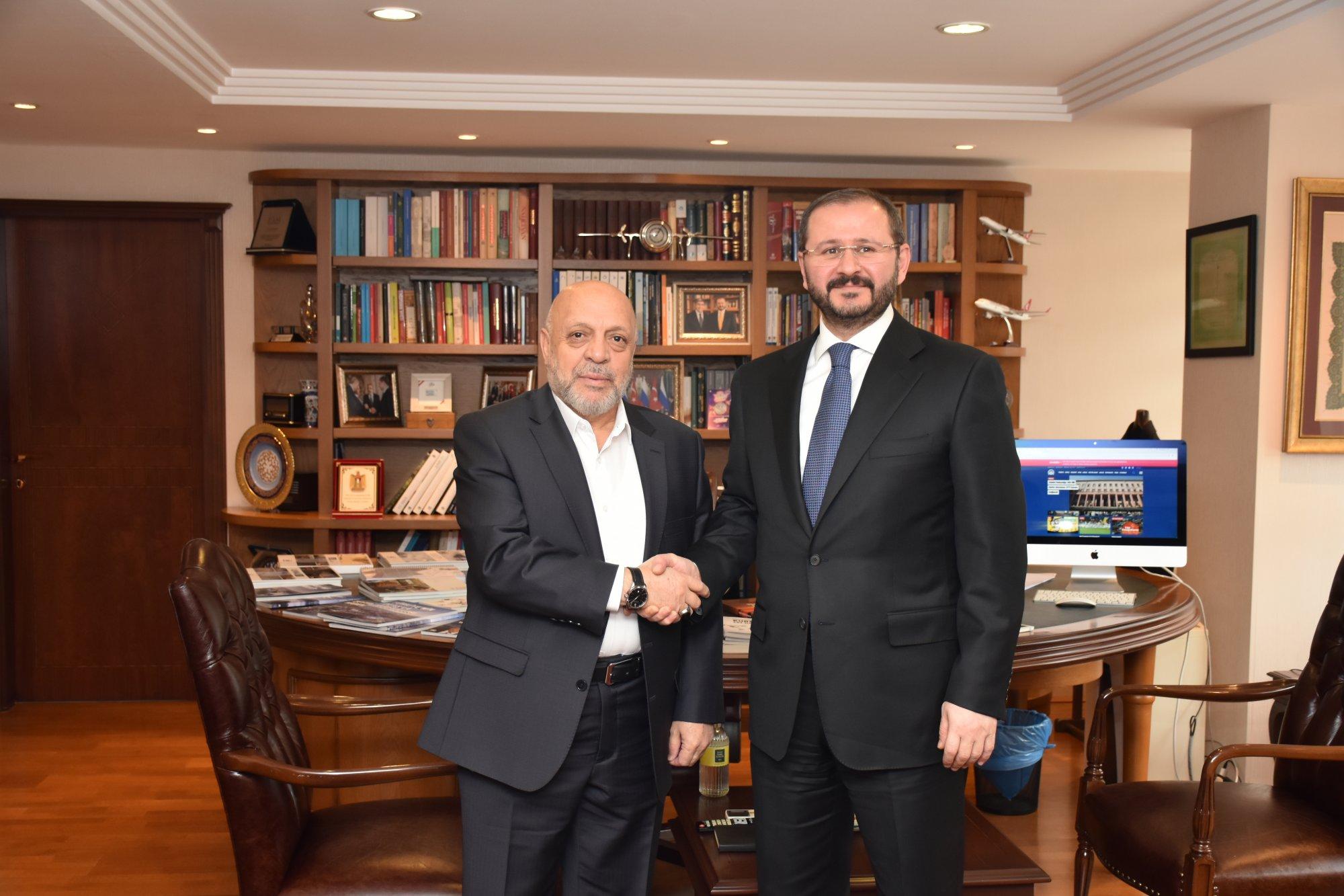 ARSLAN'DAN, AA GENEL MÜDÜRÜ KAZANCI'YA ZİYARET