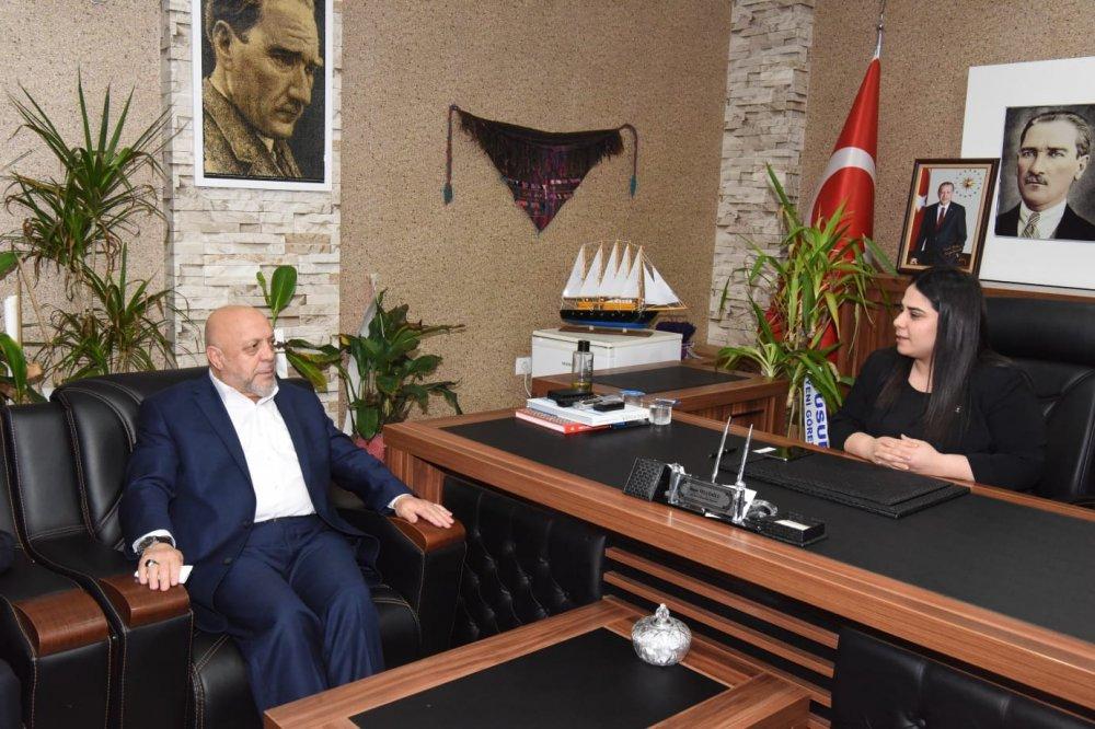 ARSLAN, AK PARTİ SİLOPİ İLÇE BAŞKANI TELLİOĞLU'NU ZİYARET ETTİ