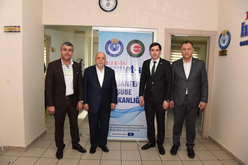 ARSLAN, GAZİANTEP İL BAŞKANLIĞI'NI ZİYARET ETTİ