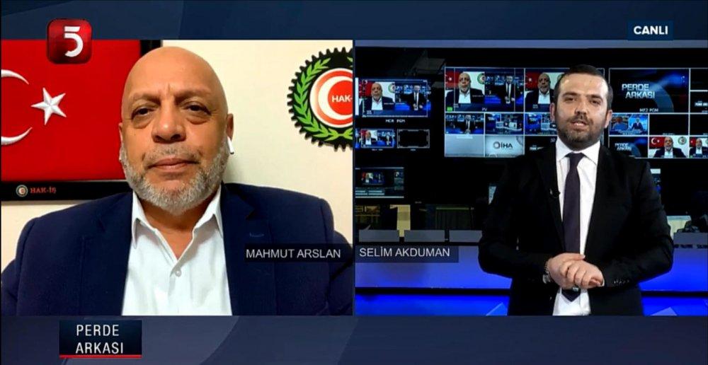 GENEL BAŞKANIMIZ ARSLAN TV5 CANLI YAYININA KATILDI