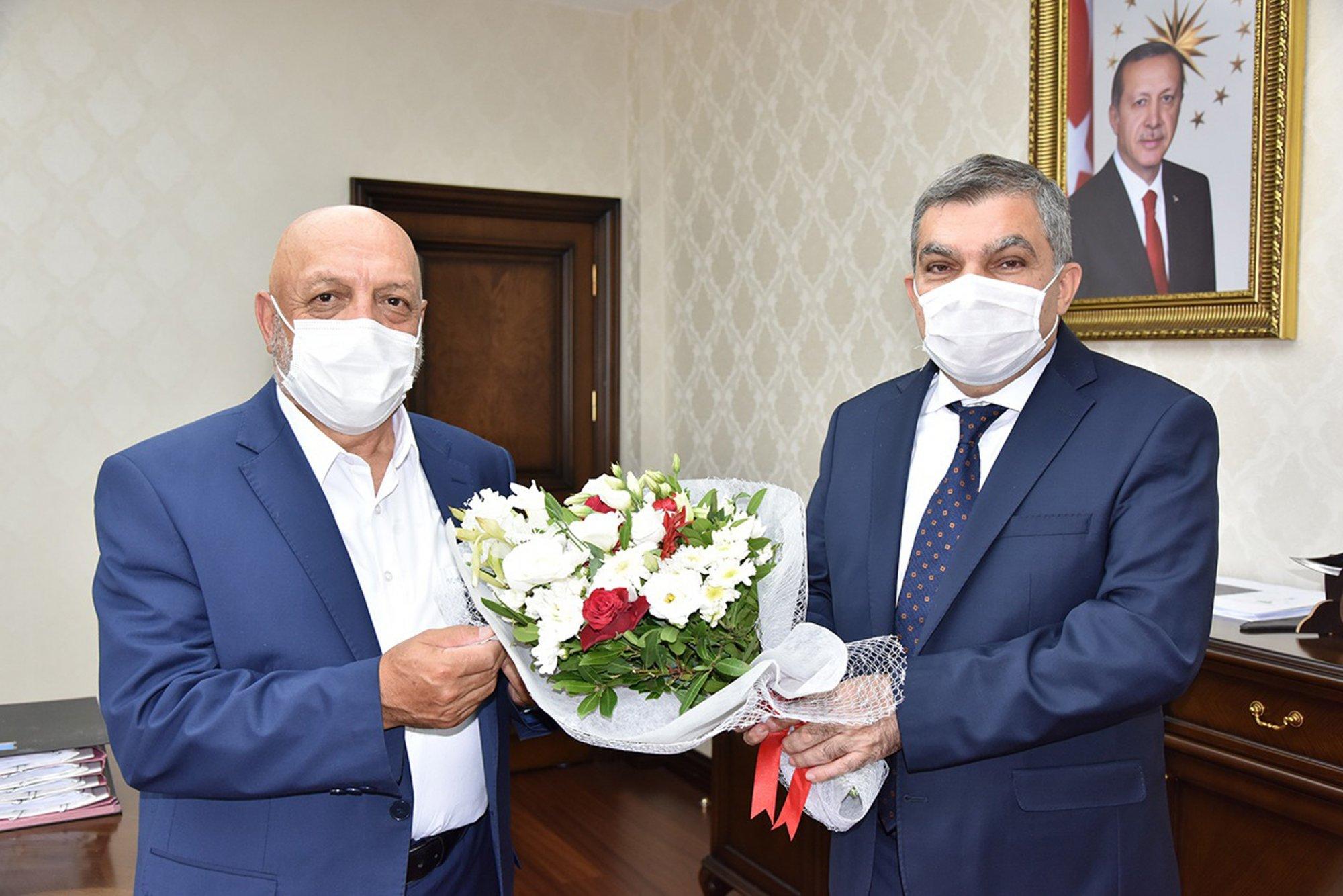 ARSLAN'DAN KARAMAN VALİSİ IŞIK'A ZİYARET