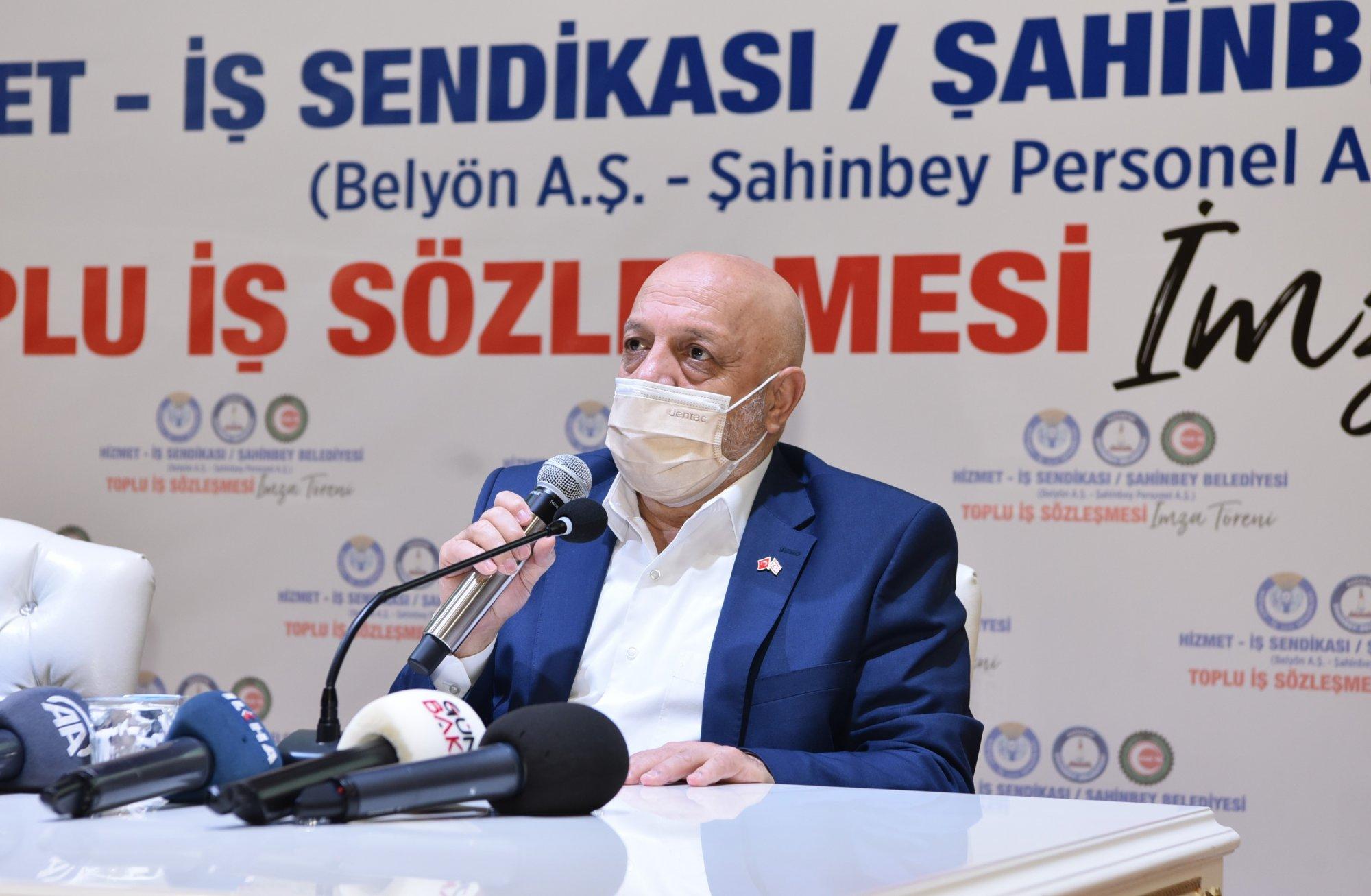 ARSLAN, GAZİANTEP'TE TİS TÖRENİNE KATILDI