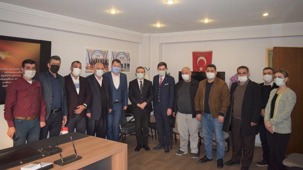 YILDIZ, ÖZ-İPLİK-İŞ TEMSİLCİLER TOPLANTISINA KATILDI
