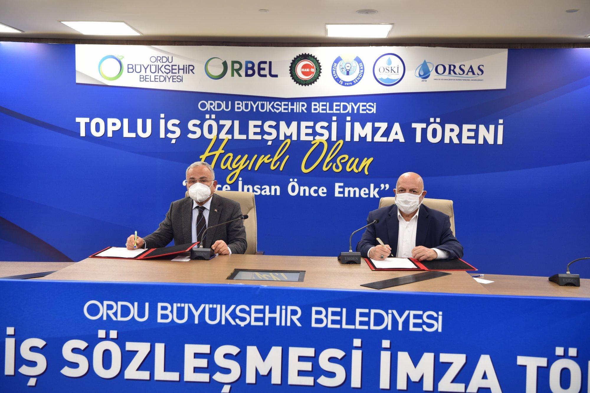ARSLAN ORDU'DA TİS TÖRENİNE KATILDI