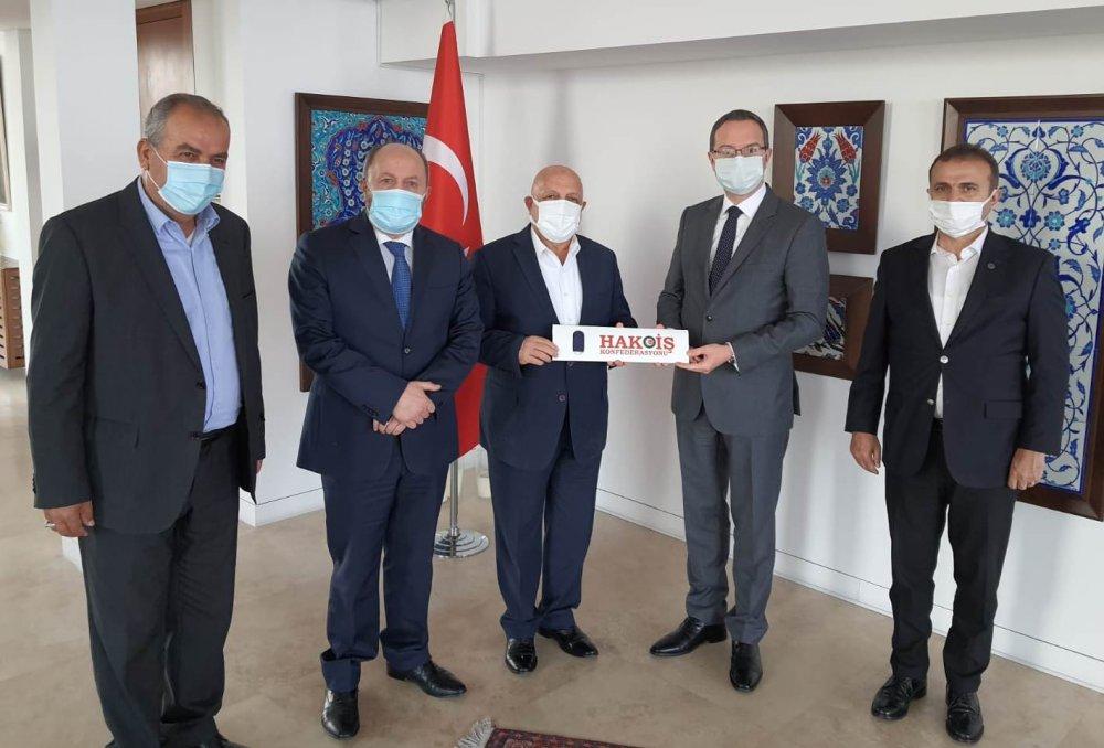 ARSLAN'DAN BEYRUT BÜYÜKELÇİSİ ULUSOY'A ZİYARET