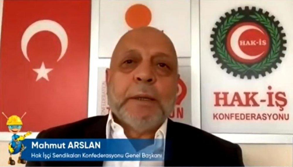 ARSLAN, 35'İNCİ İSG TOPLANTISINDA KONUŞTU