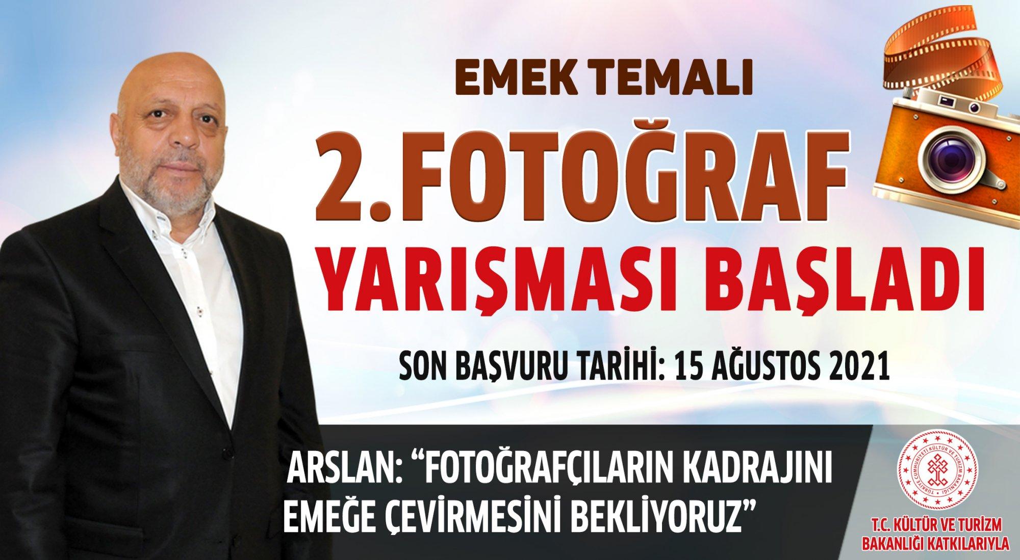 HAK-İŞ'TEN EMEK TEMALI FOTOĞRAF YARIŞMASI